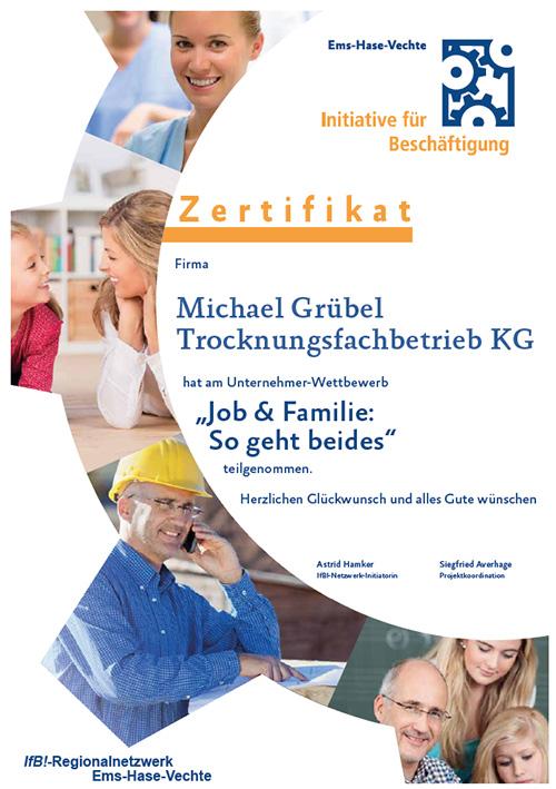 Job und Familie