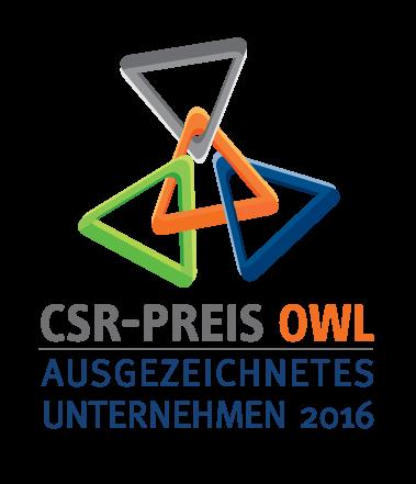 CSR-Preis OWL Auszeichnung 2016