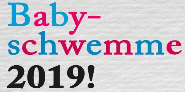 Babyschwemme 2019